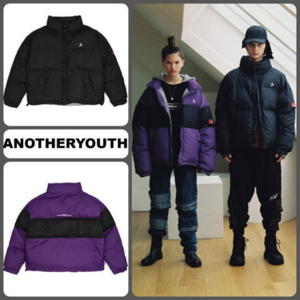 【ANOTHERYOUTH 】18AW Oversizeダウンジャケット2色/追跡送料込