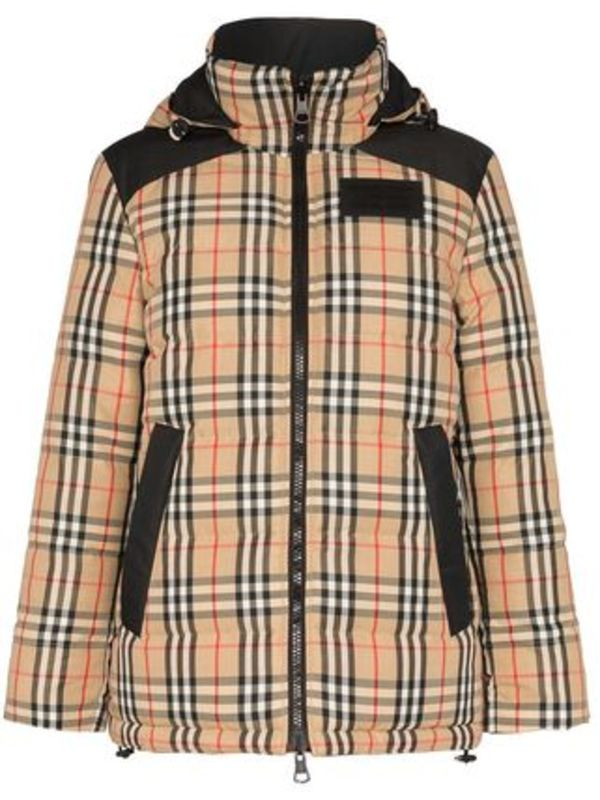 【関税負担】 BURBERRY REVERSIBLE DOWN JACKET