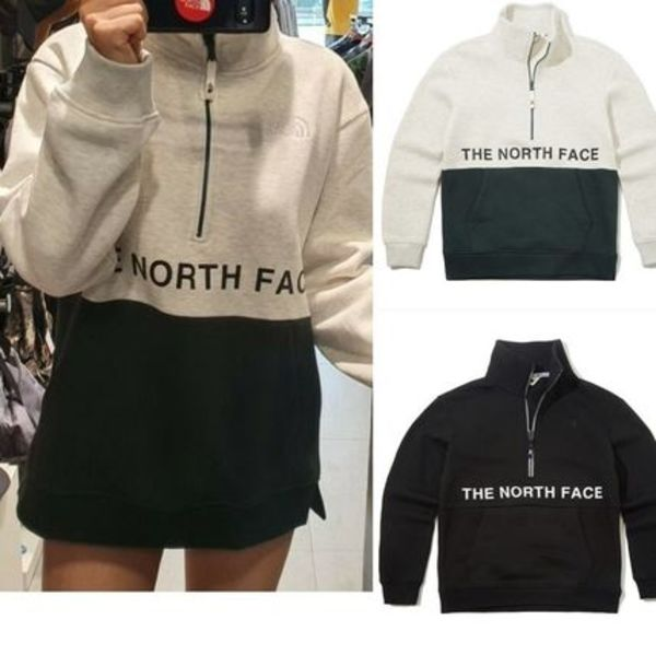 日本未入荷☆THE NORTH FACE☆TOPEKA HALF ZIP SWEATSHIRTS