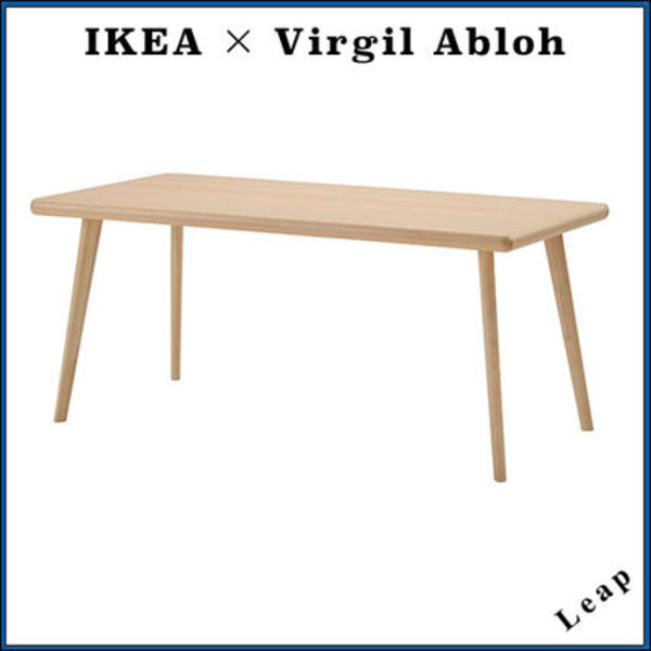 【Virgil Abloh×IKEA】イケア コラボ MARKERAD Table Brown