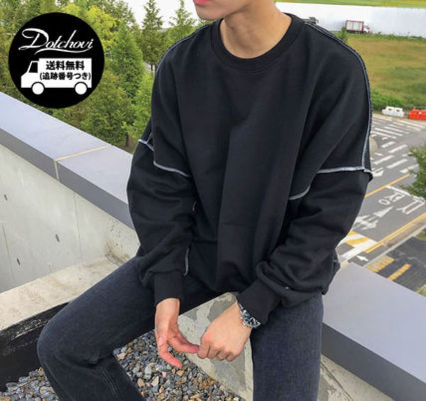ASCLO Range Overfit Sweat Shirt MU1086 追跡付