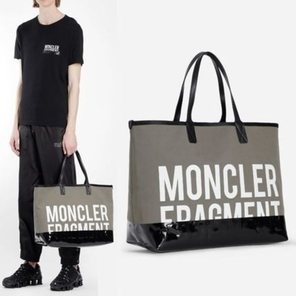 【MONCLER】GENIUS X Fragment Tote Bag カーキ