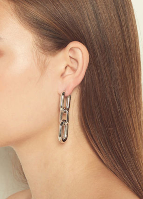 ★韓国アイドル着用★alainn★triple u pipe earring 3色