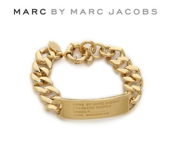 大人気[ Marc by M J ]Standard Supply ID Bracelet 3色