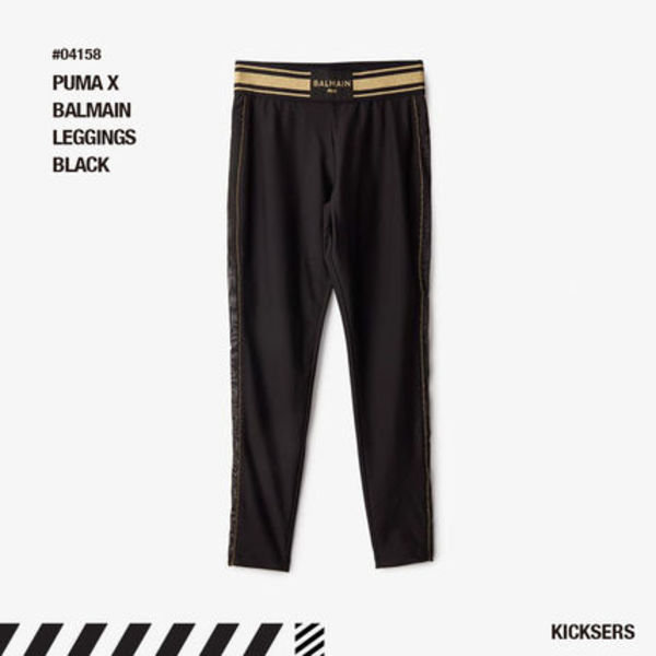 人気話題コラボ!PUMA X BALMAIN LEGGINGS BLACK