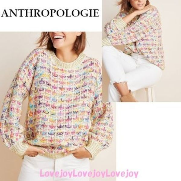 日本未入荷◇ アンソロ Anthropologie Myla Sparkled Pullover