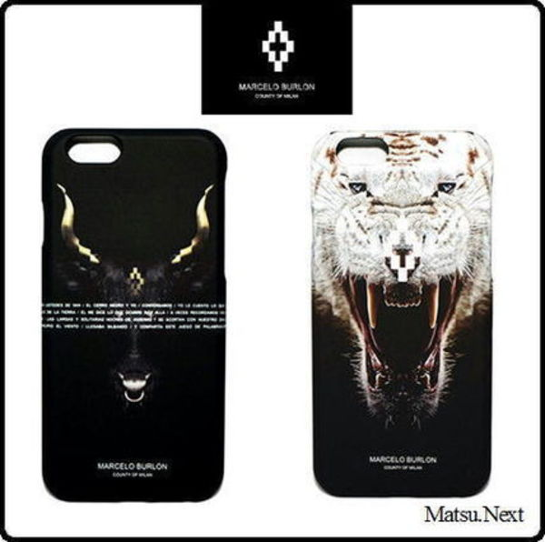 ☆人気セレクト☆Marcelo Burlon/ iPhone6/6sケース 2種