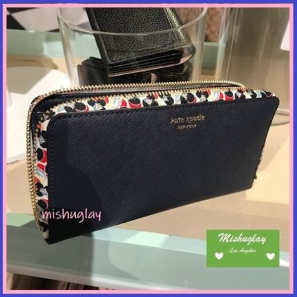 【kate spade】夏物最終SALE★large continental wallet★長財布