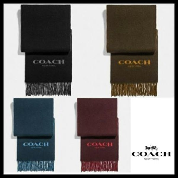 ★Sale★COACH★Signature Scarf マフラー