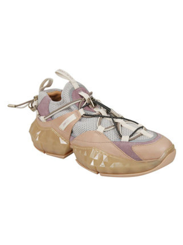 JIMMY CHOO DIAMOND TRAILスニーカー(Porcelain/pink)