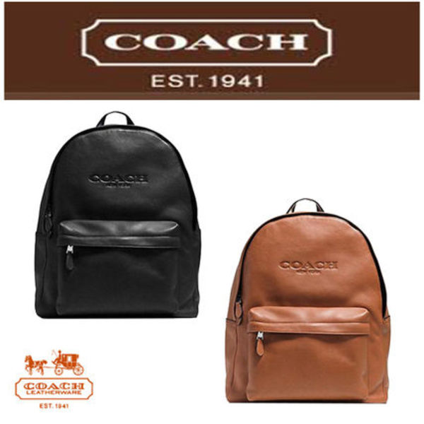 【即発◆3-5日着】Campus backpack in leather/F72120
