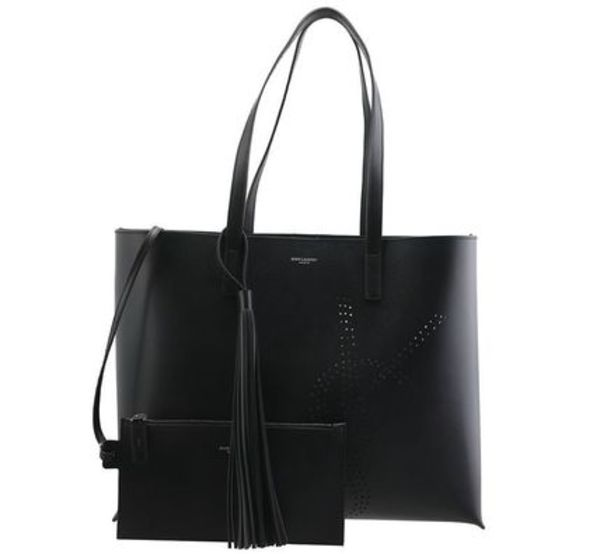 【関税負担】 SAINT LAURENT LOGO TOTEBAG