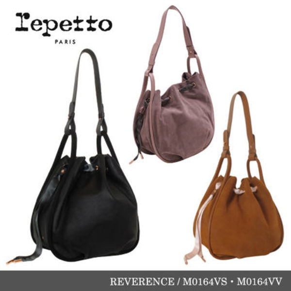【repetto】REVERENCE Calfskin Leather Purse