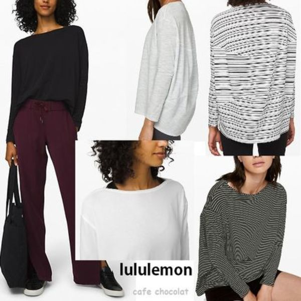 【lululemon】ゆったりサイズ☆Back In Action Long Sleeve 5色