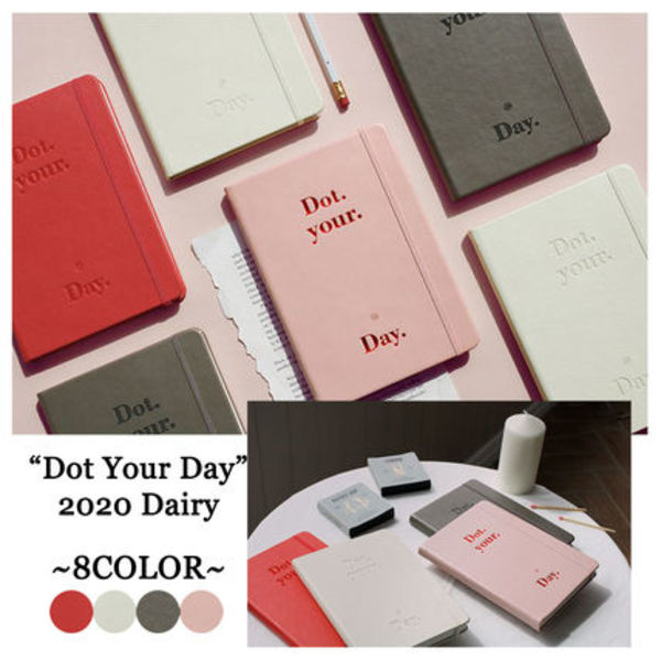 [BE ON D] 2020 DOT YOUR DAY DIARY 4COLOR 韓国 スケジュール帳 手帳