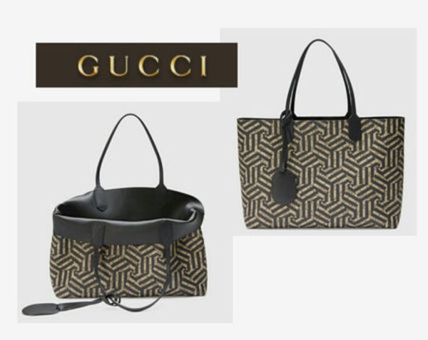 新作☆イチオシ【GUCCI】reversible gg leather tote medium