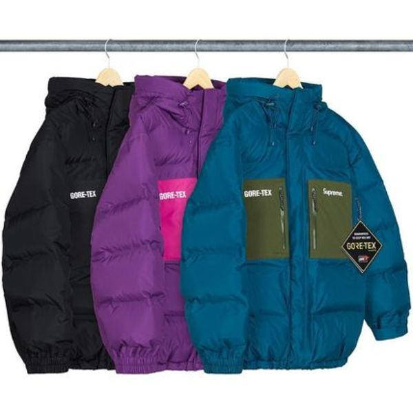 【Supreme】追跡有GORE-TEX 700-Fill Down Parka/week16/2019AW
