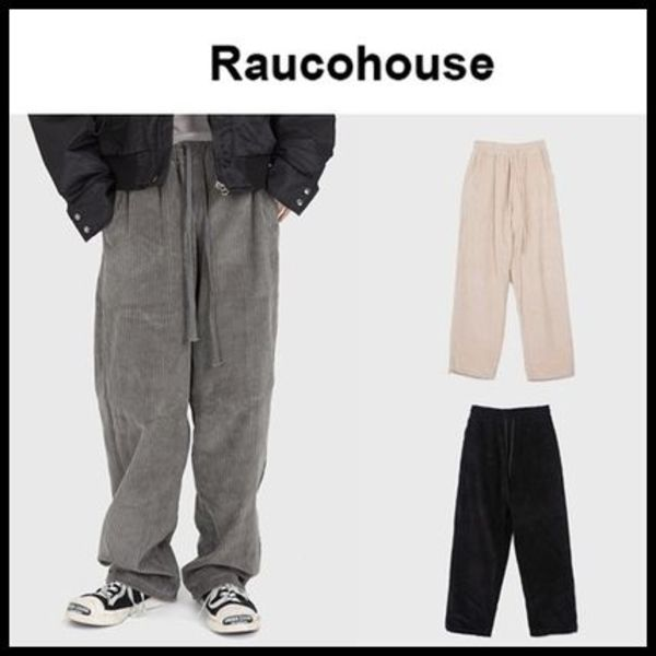 ☆RAUCOHOUSE☆ コーデュロイパンツ CORDUROY EASY WIDE PANTS