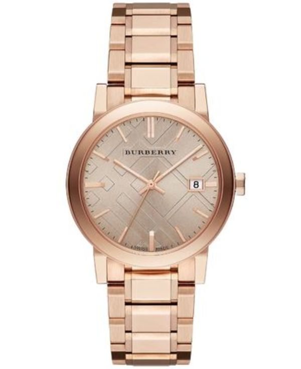 ☆Burberry Rose Gold腕時計★38mm
