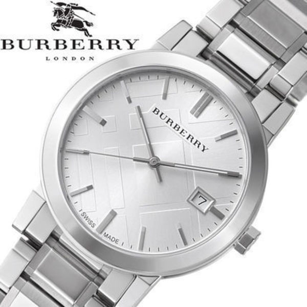 破格値  Burberry(バーバリー ) Check Silver Unisex Watch