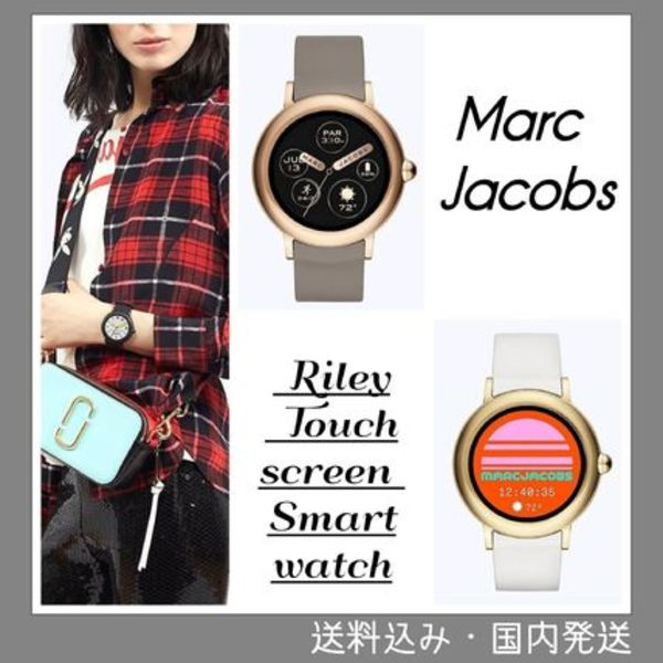 大人気SALE!国内発送Marc Jacobs Riley Touchscreen Smartwatch