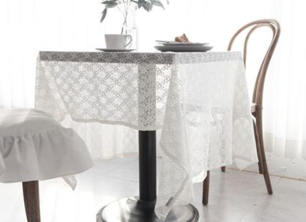 【DECO VIEW】 Blancheche Lace Tablecloth