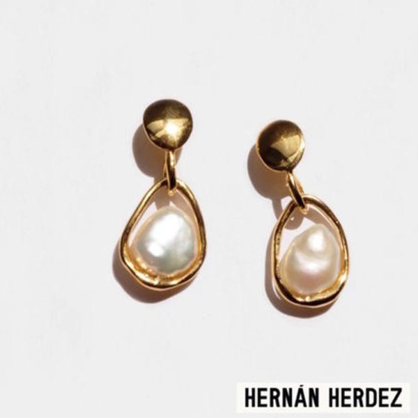 NY発!caged pearl (small)【Hernan Herdez】コヨーテネグロ