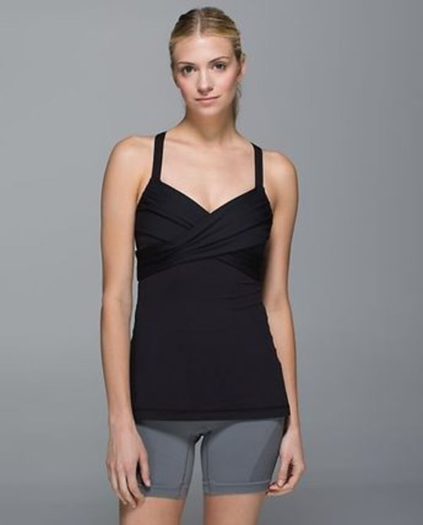 lululemon*Wrap It Up Tank*タンクトップ*black