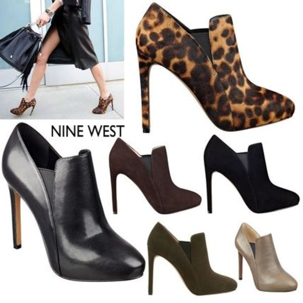 新作!多色有 NINE WEST NUTCRACKER ブーティ