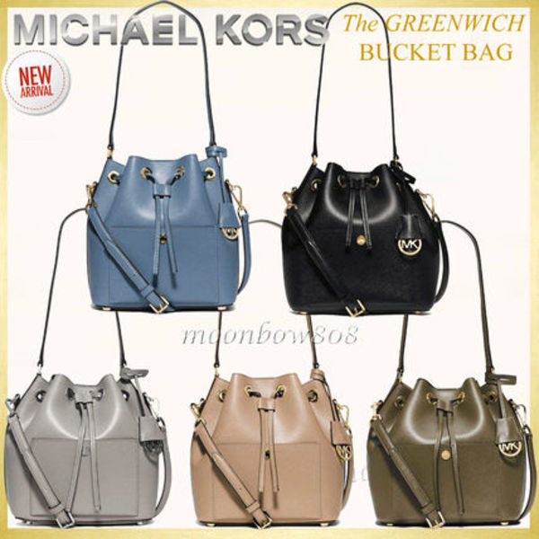 【日本未入荷 新作】Michael Kors The Greenwich Bucket Bag 5色