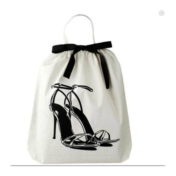 即納Bag-allバックオール NY発High Heel Sandal Shoe Bag