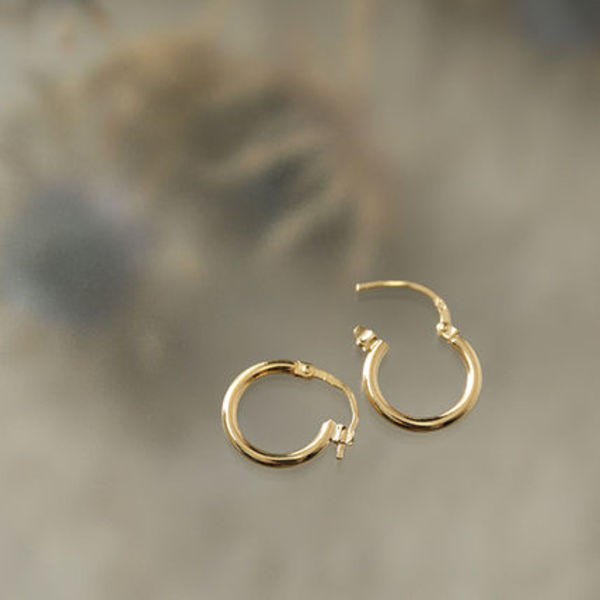LOUISE DAMAS ピアス LD AUG 4 Augustine Small hoop earrings