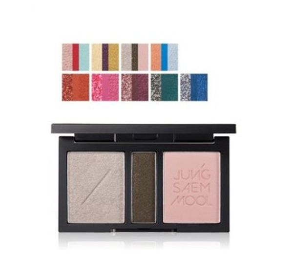 JUNGSAEMMOOL★Refining Eyeshadow Triple 全9色