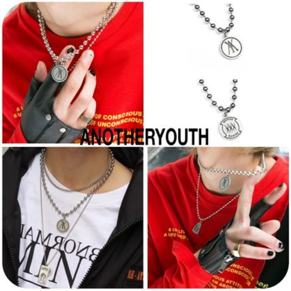 [ ANOTHERYOUTH ] ★韓国大人気★ A Pendant Necklace