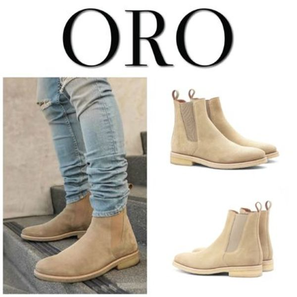 【ORO LOS ANGELES】☆新作☆ THE ALICANTE CREPE CHELSEA BOOTS
