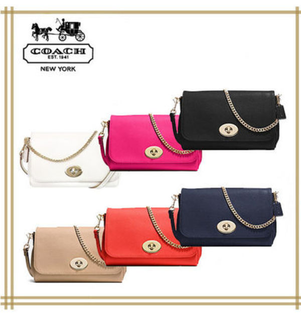 COACH★MINI RUBY CROSSBODY IN LEATHER F34604 【国内発送】