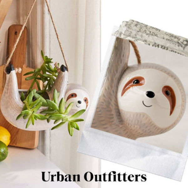 ☆Urban Outfitters なまけもの*ハンギングプランター☆送関込