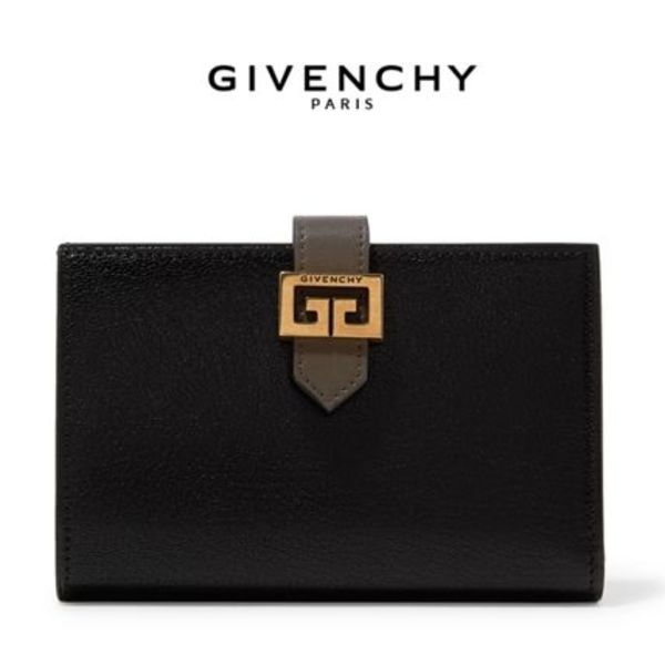∞∞ GIVENCHY ∞∞ GV3 textured-leather 財布☆