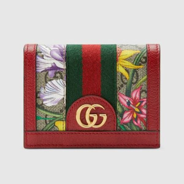 ∞∞ GUCCI ∞∞ Ophidia GG Flora スモールウォレット☆