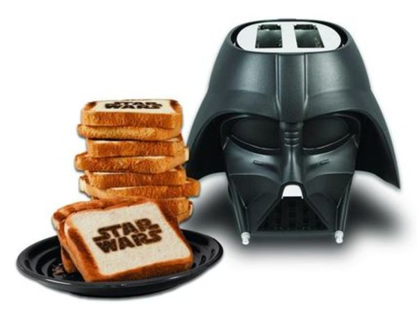 Star Wars 2-Slice Darth Vader Toaster