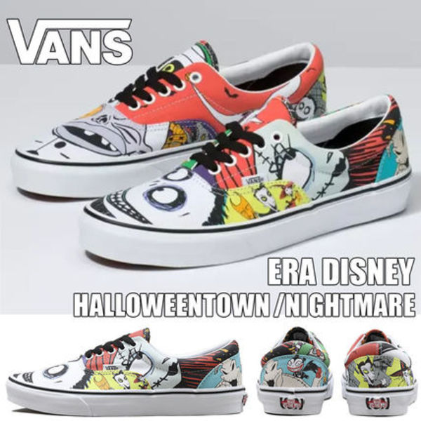 ディズニーコラボ◆VANS◆ERA DISNEY HALLOWEENTOWN/NIGHTMARE