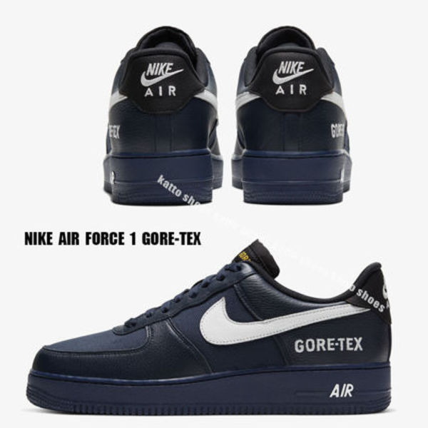 NIKE★AIR FORCE 1 GORE-TEX★OBSIDIAN/WHITE/BLACK/OFF NOIR
