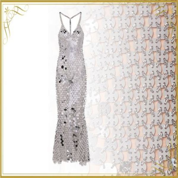 関税込み◆Sequined maxi dress