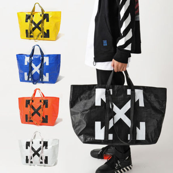 OFF-WHITE トートバッグ COMMERCIAL TOTE ショッパー