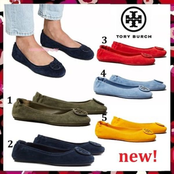 セール 新色 Tory Burch Minnie Travel Ballet Flat