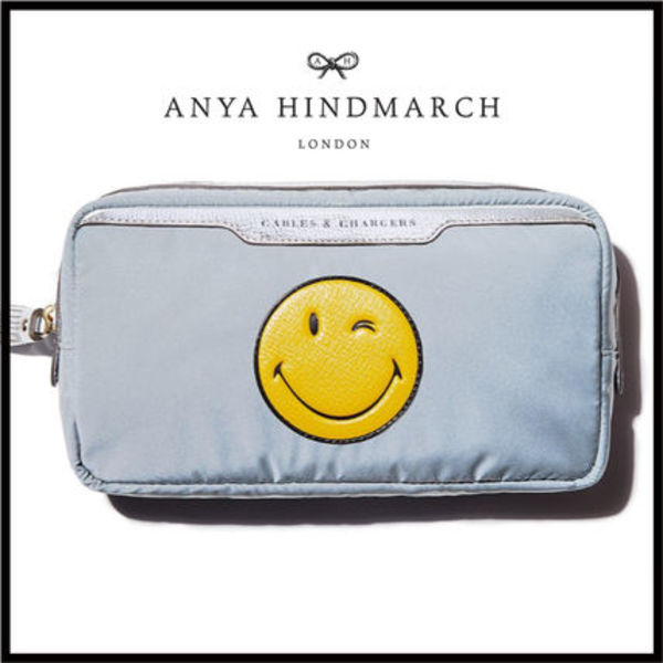 ★SALE★ANYA HINDMARCH★スマイリー★ポーチ★