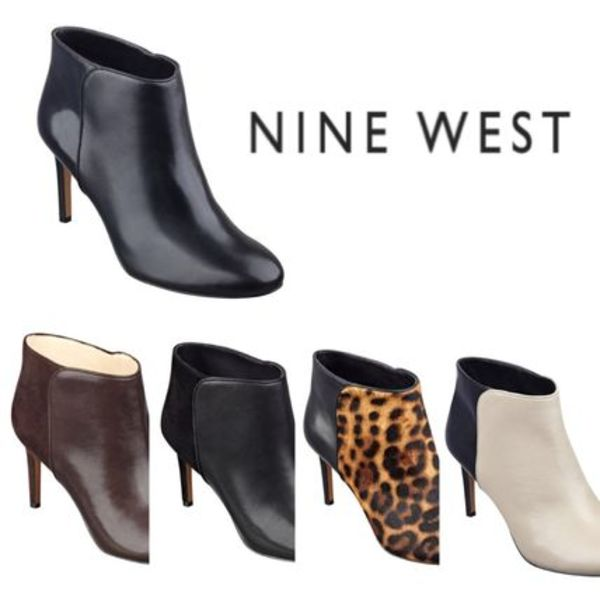 Sale★【Nine West】ブーティー★Valid Pull-on Booties