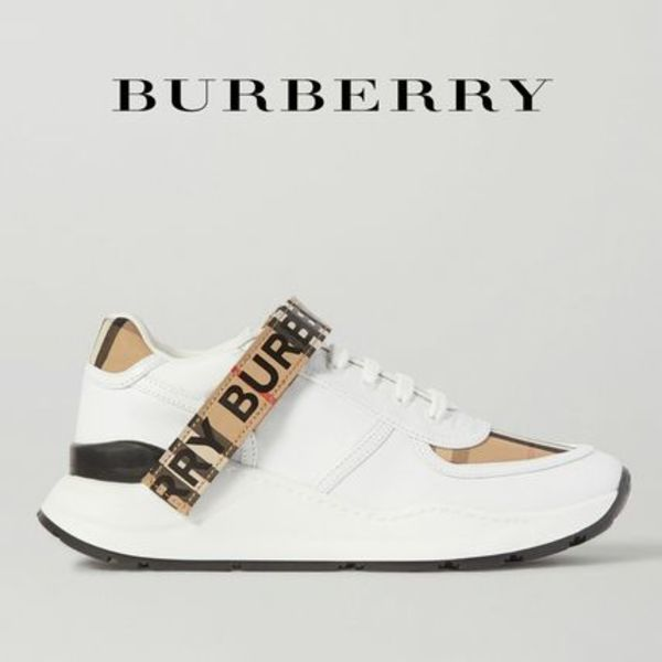 ∞∞ Burberry ∞∞ Logo-detailed checked スニーカー☆
