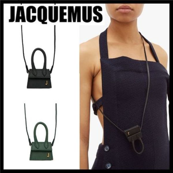JACQUEMUS★Le Chiquito マイクロ グレインレザーバッグ★関送込