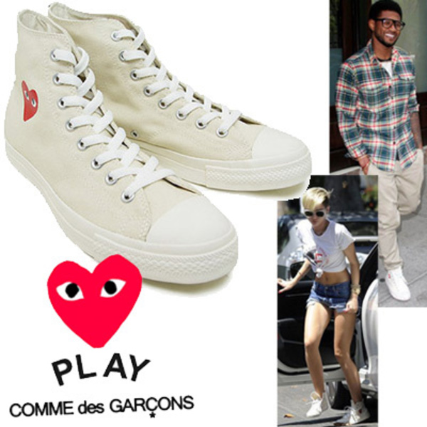 ●COMME des GARCONS Play x Converse●Chuck Taylor スニーカー